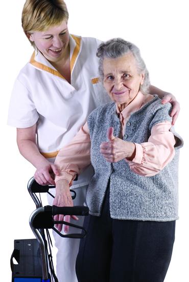 Altenpflege, Betreuung im eigenem Heim, Unterstützung bei der täglichen Arbeiten