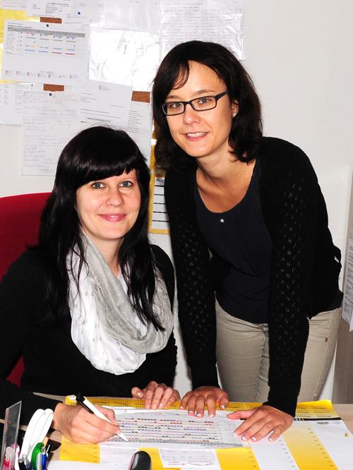 Mobiler Pflegeservice, Schwester Conny und Romy, Pflegedienstleiterin Tagespflege