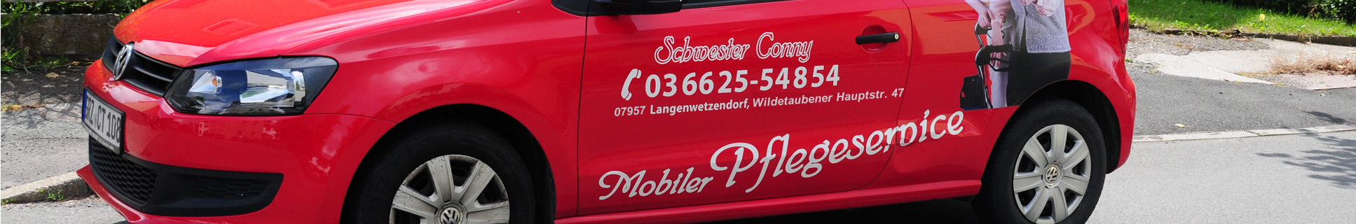 Connys mobiler Pflegeservice in Widetaube