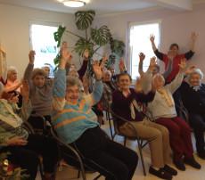 Singgruppe Nitschareuth verleitet zum Mitsingenz
