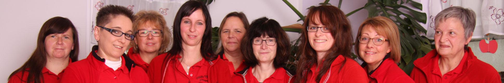 Team des Mobilen Pflegeservices in Wildetaube